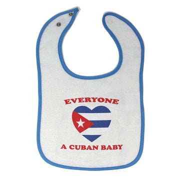 Toddler & Baby Bibs Everyone Loves Cuban Countries Items for Girl Boy