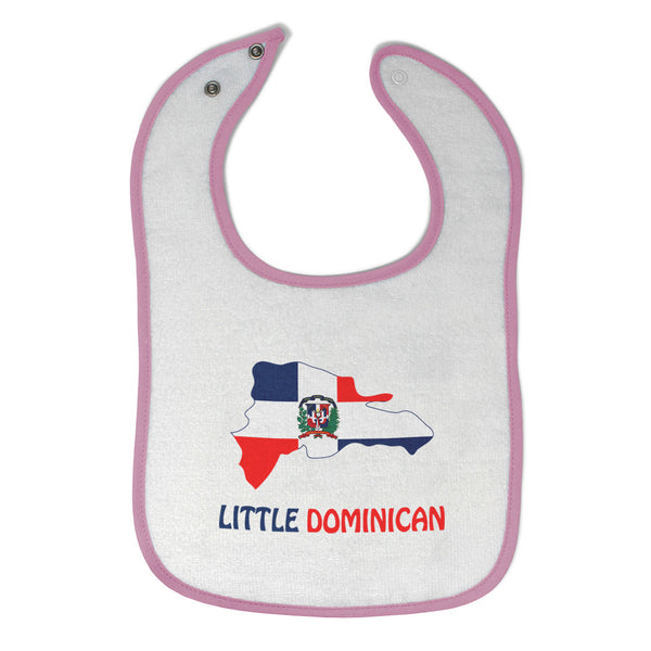 Toddler & Baby Bibs Little Dominican Style A Countries Wsp, Wlb, Wb, W