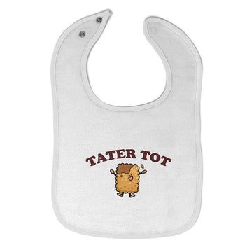 Toddler & Baby Bibs Tater Tot Items for Girl Boy Wsp, Wlb, Wb, W