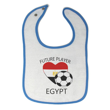Toddler & Baby Bibs Future Soccer Player Egypt Items for Girl Boy