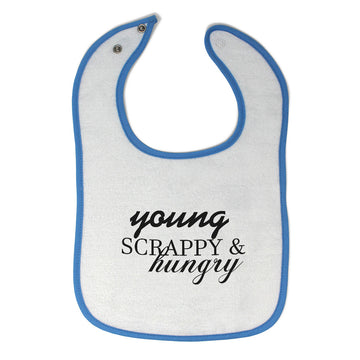 Cloth Bibs for Babies Young Scrappy & Hungry Baby Accessories Burp Cloths Cotton