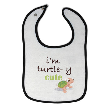 Cloth Bibs for Babies I'M Turtle Y Cute Animals Woodland Baby Accessories Cotton