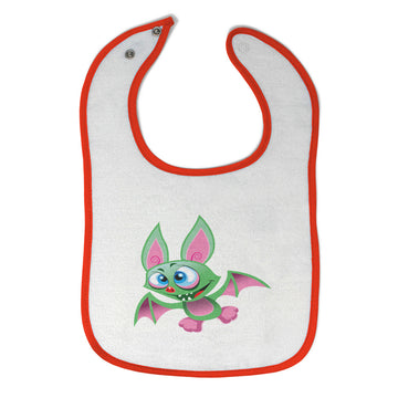 Cloth Bibs for Babies Bat Halloween Monster Holidays and Occasions Halloween