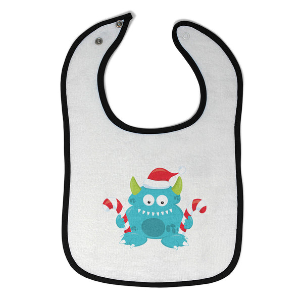 Toddler & Baby Bibs Blue Monster Lollipop Characters Wsp, Wlb, Wb, W