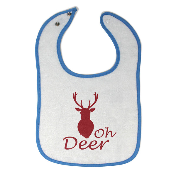 Cloth Bibs for Babies Oh Deer Animals Woodland Baby Accessories Cotton - Cute Rascals