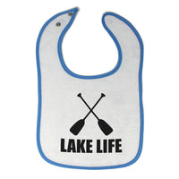 Toddler & Baby Bibs Lake Life Items for Girl Boy Wsp, Wlb, Wb, W