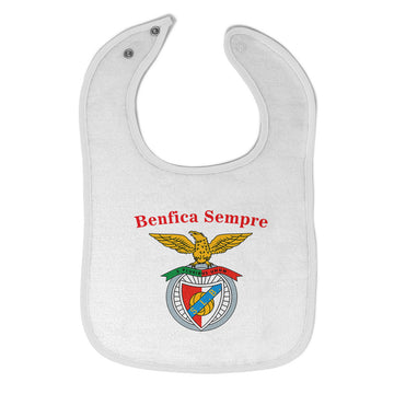 Cloth Bibs for Babies Benfica Sempre Always Beneficial Baby Accessories Cotton