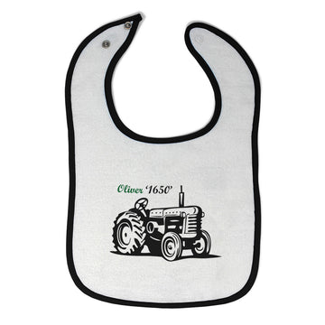 Cloth Bibs for Babies Oliver Tractors Funny Humor Baby Accessories Cotton