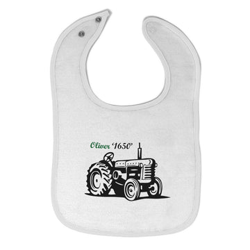 Toddler & Baby Bibs Oliver Tractors Funny Humor Items for Girl Boy