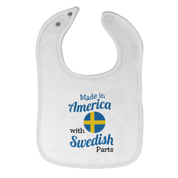 Toddler & Baby Bibs Made in America with Swedish Parts Wsp, Wlb, Wb, W