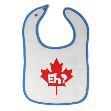Cloth Bibs for Babies Eh Canada Canadian Humor Funny Baby Accessories Cotton