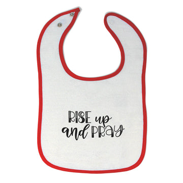 Cloth Bibs for Babies Rise up and Pray Baby Accessories Burp Cloths Cotton