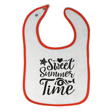 Cloth Bibs for Babies Sweet Summer Time Baby Accessories Burp Cloths Cotton