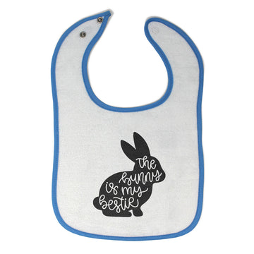 Cloth Bibs for Babies The Bunny Is My Bestie Baby Accessories Burp Cloths Cotton