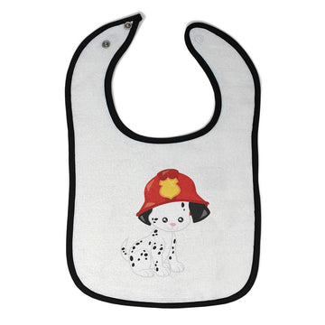 Cotton Toddler & Baby Bibs Firefighter Dog Pets Items for Girl Boy