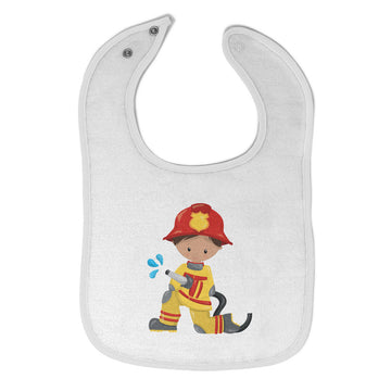 Baby Boy Bibs Firefighter Boy Hose S Professions Firefighter Burp Cloths Cotton