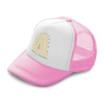 Kids Trucker Hats I Consider Other Peoples Feeling Boys Hats & Girls Hats Cotton