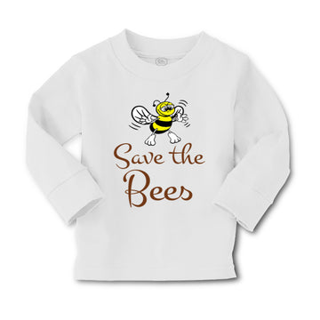 Baby Clothes Save The Bees Boy & Girl Clothes Cotton