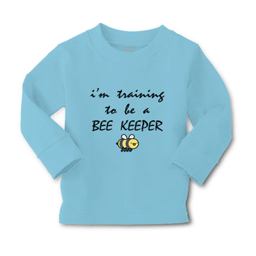 Baby Clothes I'M Training to Be A Bee Keeper Beekeeper Boy & Girl Clothes Cotton