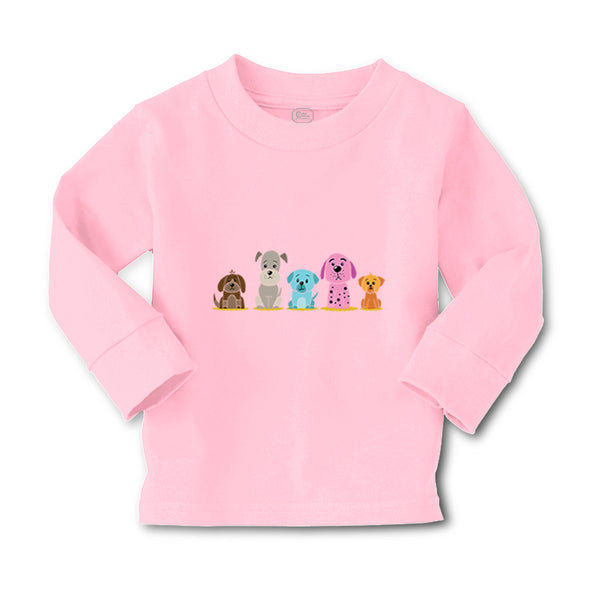 Baby Clothes Dogs Puppy Family Dog Lover Pet Boy & Girl Clothes Cotton - Cute Rascals