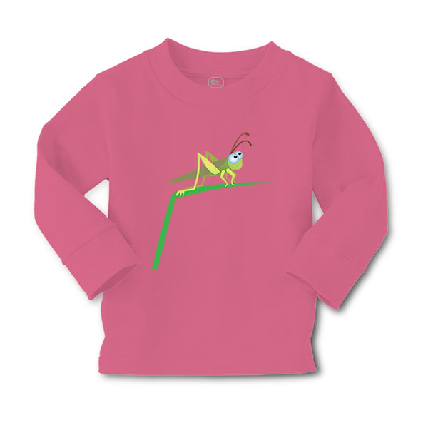 Baby Clothes Grasshopper on Grass Animals Boy & Girl Clothes Cotton - Cute Rascals