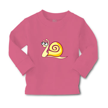 Baby Clothes Snail Yellow with Big Eyes Boy & Girl Clothes Cotton
