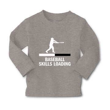 Baby Clothes Baseball Skills Loading Baseball Ball Game Boy & Girl Clothes