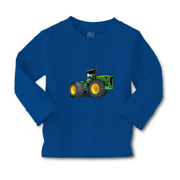 Baby Clothes Tractor Agricultural with Large Wheels Boy & Girl Clothes Cotton