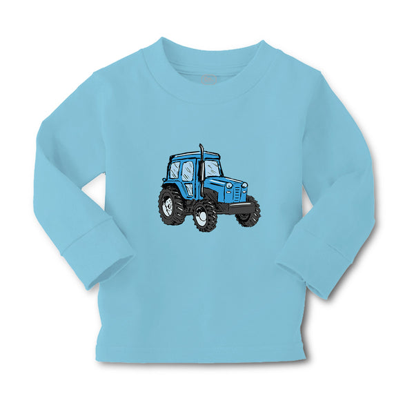 Baby Clothes Tractor Rural Blue Car Auto Boy & Girl Clothes Cotton - Cute Rascals