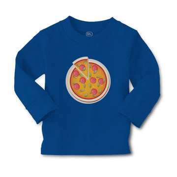 Baby Clothes Restaurants Pizza with Delicious Taste Pepperoni Pizza Cotton