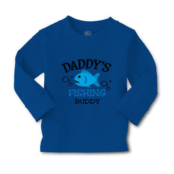 Baby Clothes Daddy's Dad Father Fishing Buddy Style B Dad Father's Day Cotton