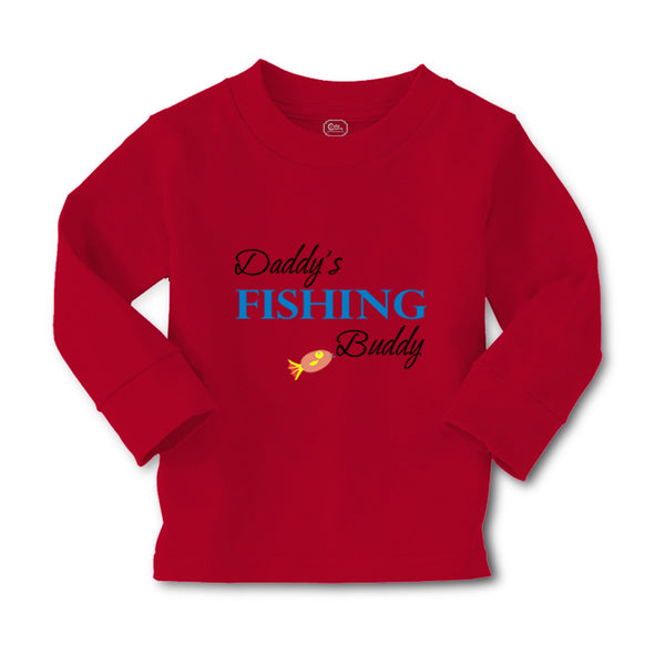 Baby Clothes Daddy's Fishing Buddy Fishing Fish Fisherman Boy & Girl Clothes - Cute Rascals