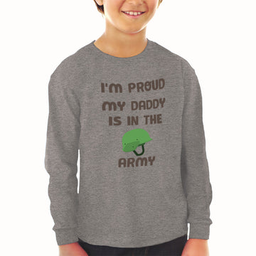 Baby Clothes I'M Proud My Daddy Is in The Army Dad Father's Day Cotton