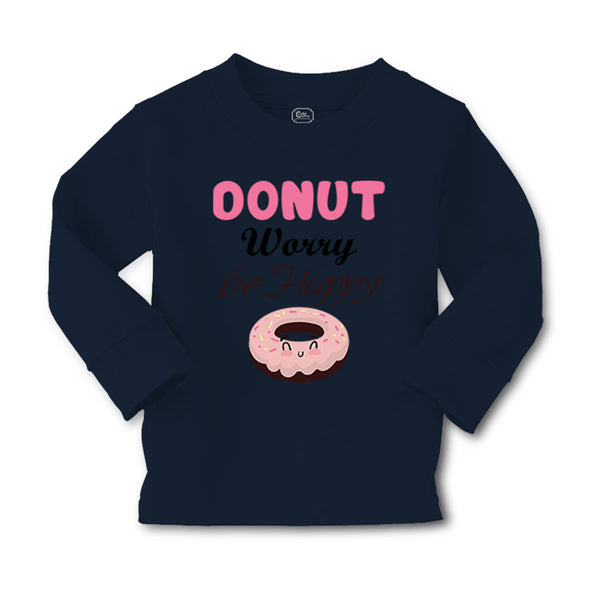 Baby Clothes Donut Worry Be Happy Funny Humor B Boy & Girl Clothes Cotton - Cute Rascals