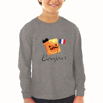 Baby Clothes Bonjour French Funny Humor Boy & Girl Clothes Cotton