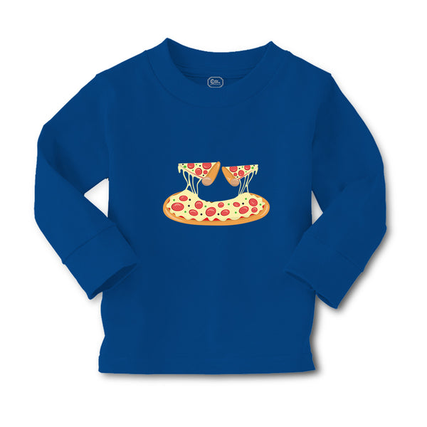 Baby Clothes Pizza Pepperoni 2 Pieces Food and Beverages Pizza Cotton - Cute Rascals