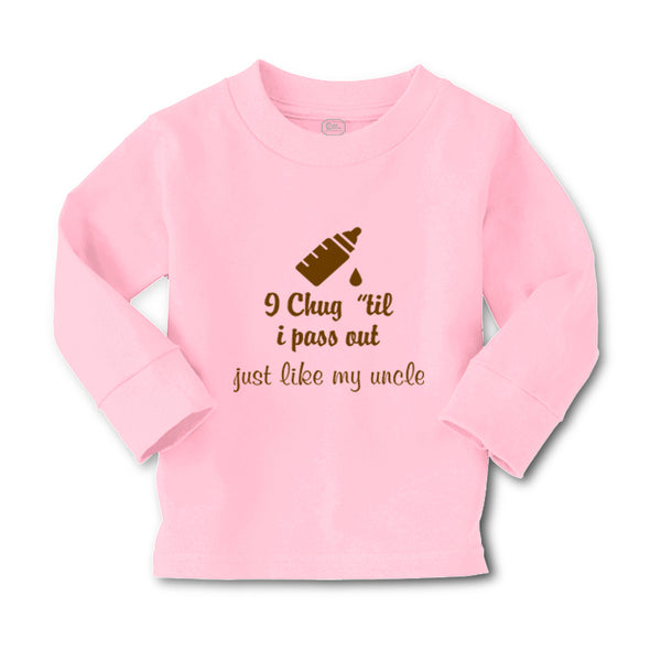 Baby Clothes I Chug til I Pass out Just like My Uncle Boy & Girl Clothes Cotton - Cute Rascals