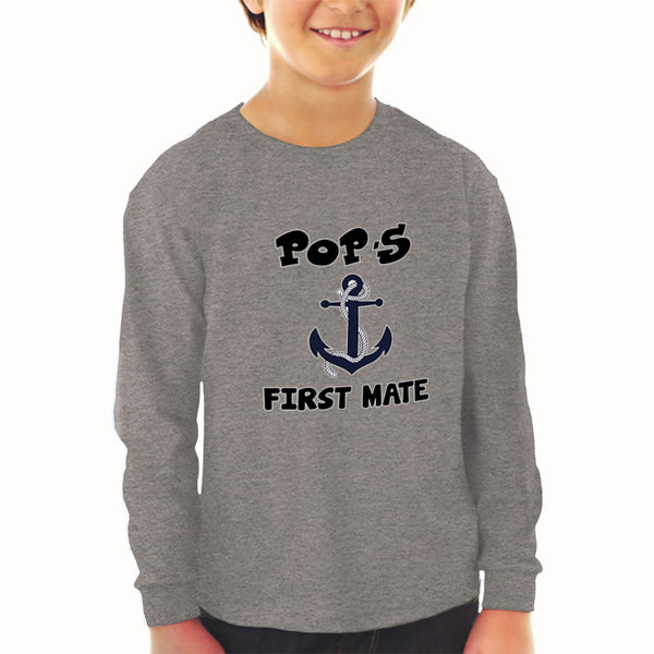 Baby Clothes Pop's First Mate Grandpa Grandfather Boy & Girl Clothes Cotton - Cute Rascals