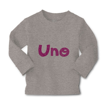 Baby Clothes Uno Wonderful 1 Year Old First Birthday Funny Humor Cotton