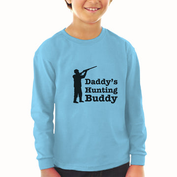 Baby Clothes Daddy's Hunting Buddy Person Standing with Gun Boy & Girl Clothes