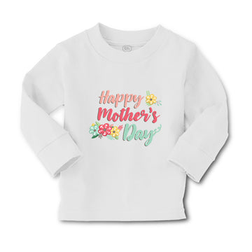 Baby Clothes Happy Mother's Day Mothers Day Mom Boy & Girl Clothes Cotton