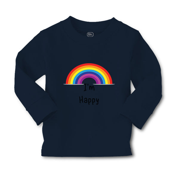 Baby Clothes I'M Happy Rainbow Funny Humor Boy & Girl Clothes Cotton - Cute Rascals
