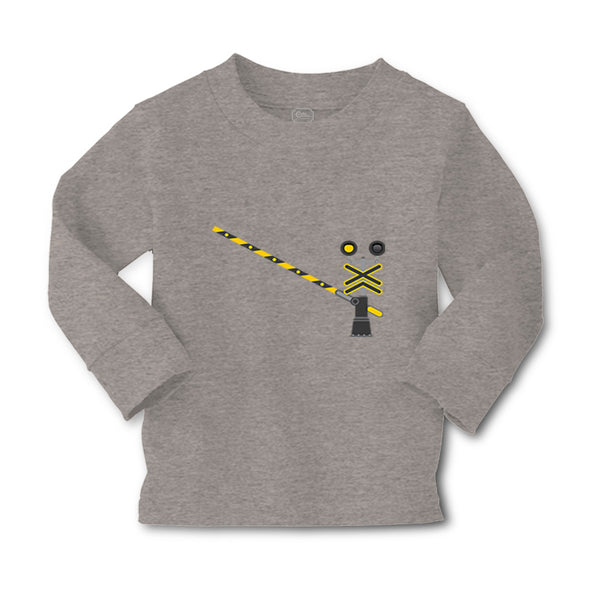 Baby Clothes Railroad Crossing Gate Funny Humor Boy & Girl Clothes Cotton - Cute Rascals