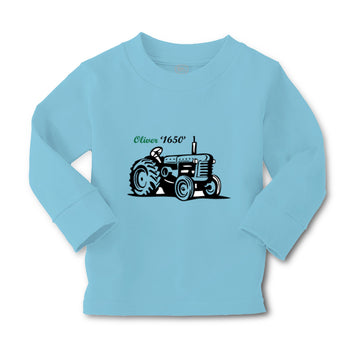 Baby Clothes Oliver Tractors Funny Humor Boy & Girl Clothes Cotton