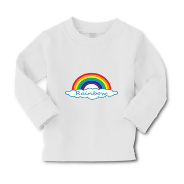 Baby Clothes Rainbow Hearts Funny Humor Boy & Girl Clothes Cotton
