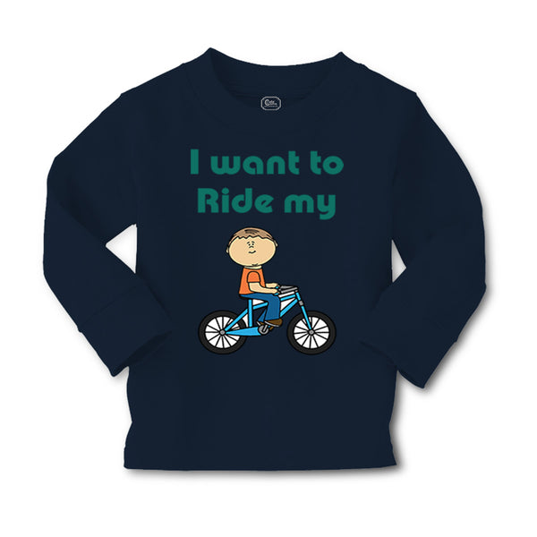 Baby Clothes I Want to Ride My Bike Boy & Girl Clothes Cotton - Cute Rascals