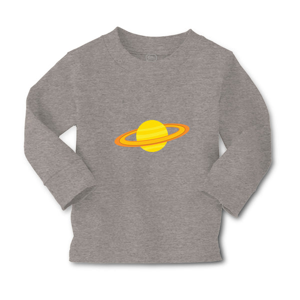 Baby Clothes Yellow Saturn Nature Planets & Space Boy & Girl Clothes Cotton - Cute Rascals