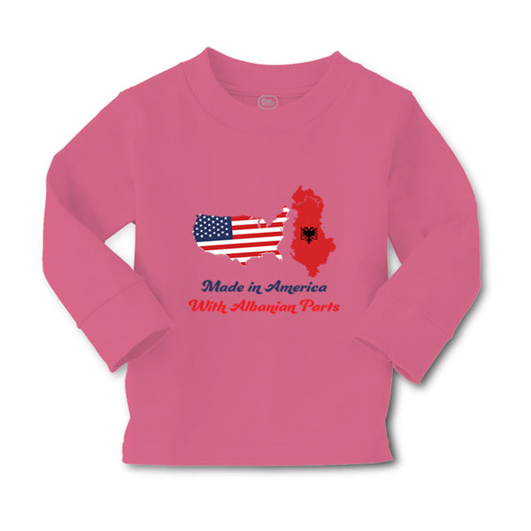 Baby Clothes Made in America with Albanian Parts Boy & Girl Clothes Cotton - Cute Rascals