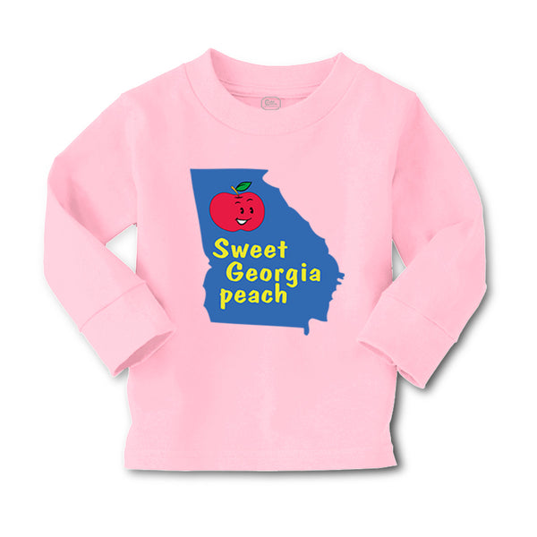 Baby Clothes State of Georgia Sweet Peach Baby Boy & Girl Clothes Cotton - Cute Rascals