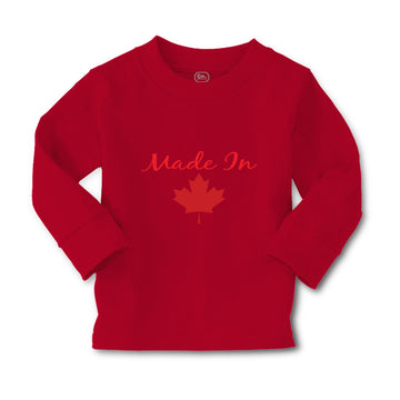 Baby Clothes Made in Canada Red Leaf Canadian Boy & Girl Clothes Cotton